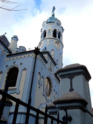 Modrý kostel