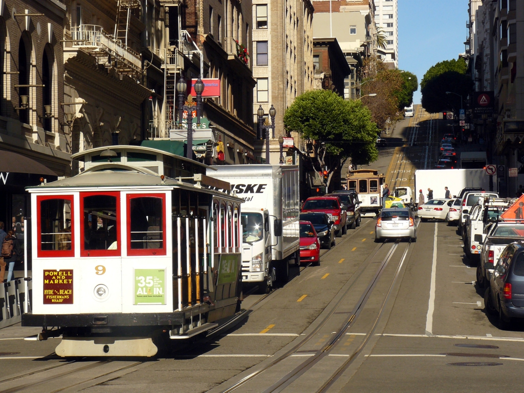 Lanovky v San Franciscu
