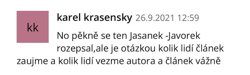 Jasánek-Javorek