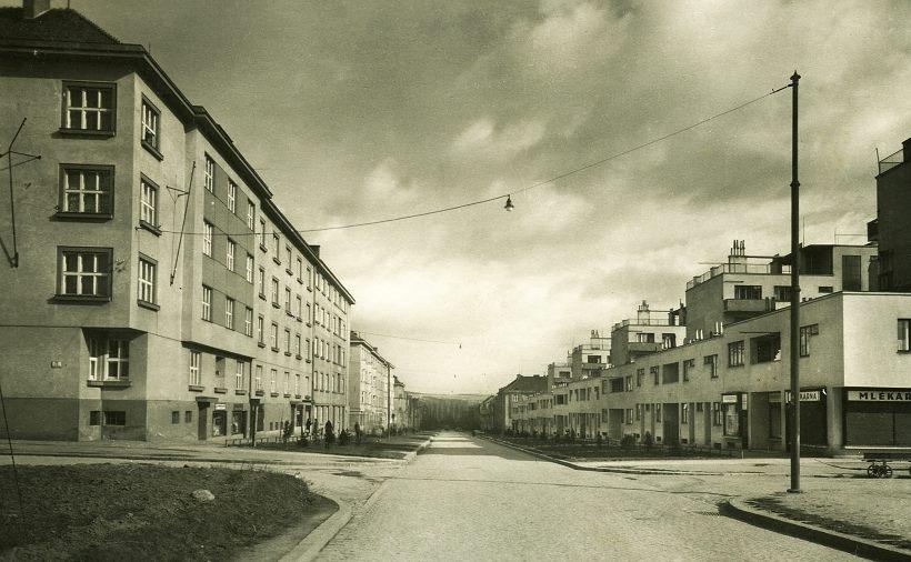 Skácelova ulice kdysi