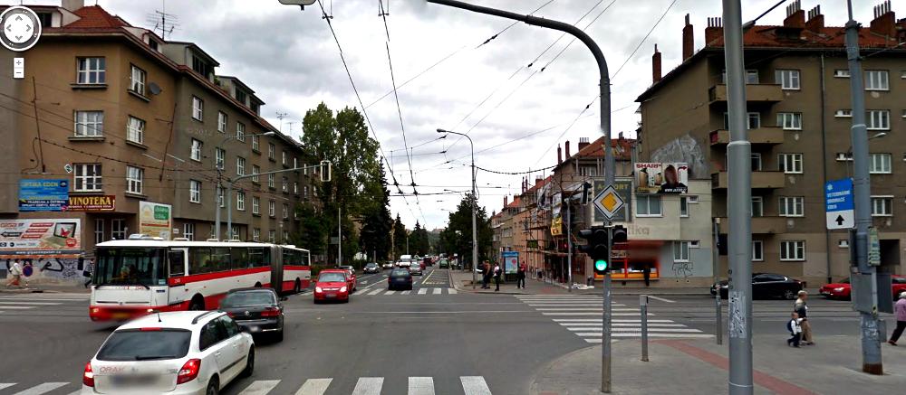 Skácelova ulice dnes