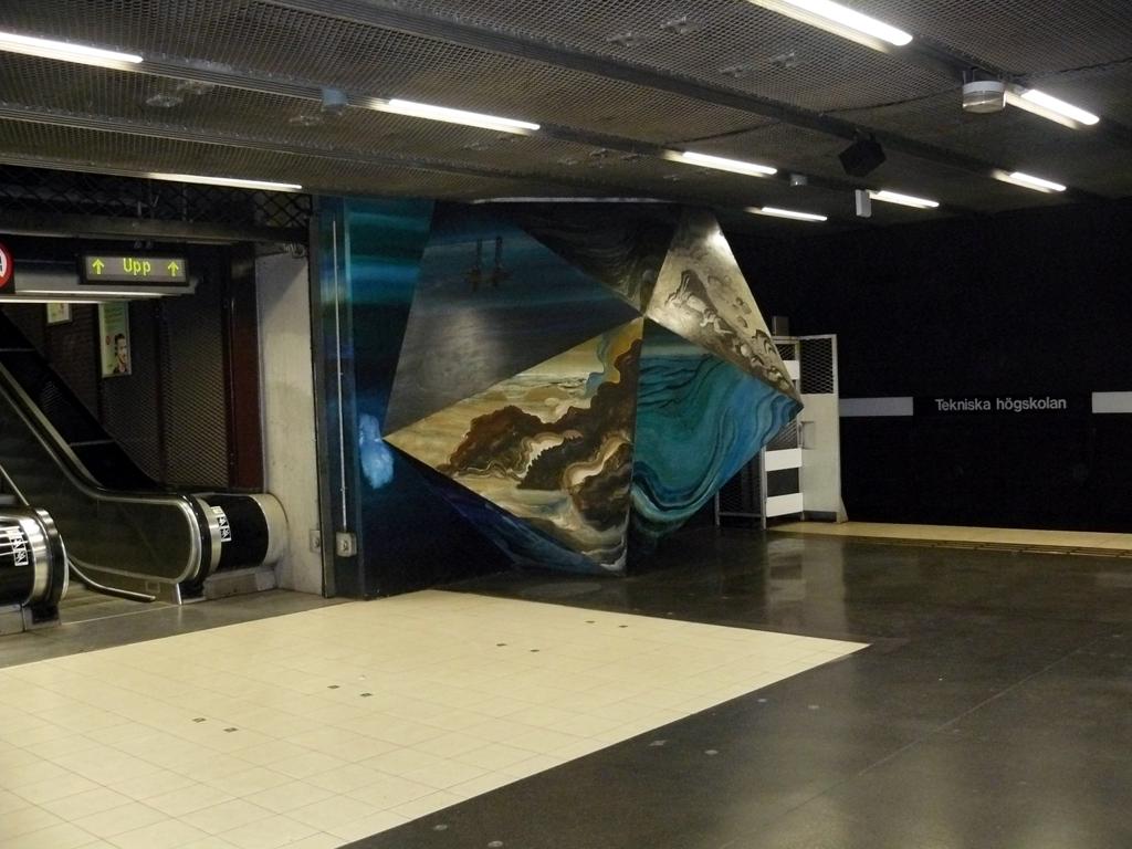 Metro ve Stockholmu