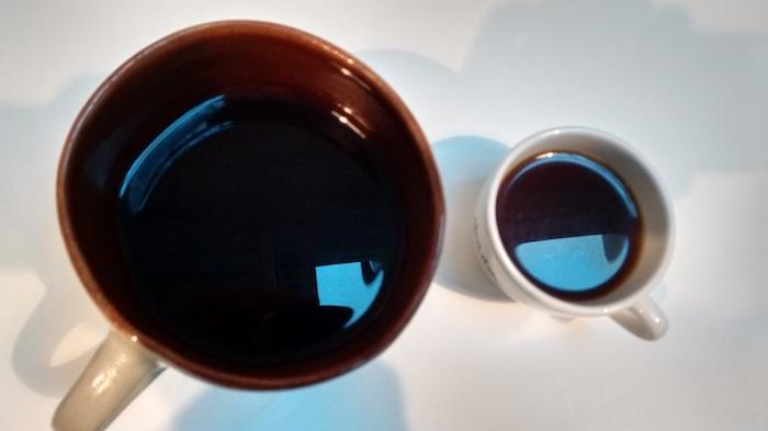 Čaj, káva